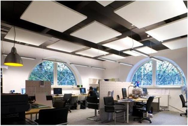 Виды потолков для офиса