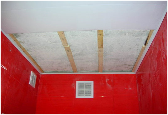Реечный потолок в ванной - виды и преимущества реечных систем. Последовательность монтажных работ. Рекомендации, как правильно установить реечный потолок