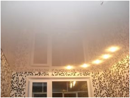 Бесшовные и бесщелевые натяжные потолки