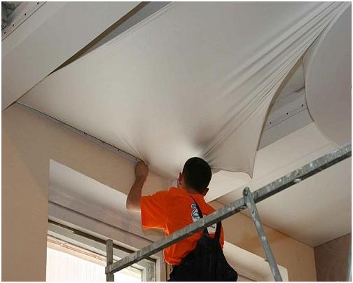 Как сделать двухуровневый натяжной потолок (9 фото)