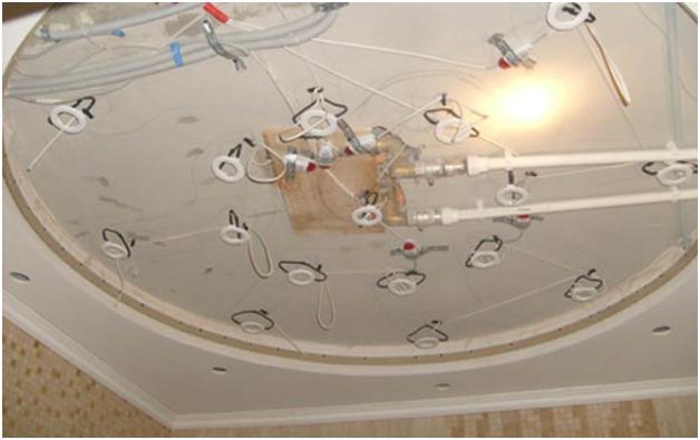 Как подготовить потолок под натяжной потолок? (10 фото)