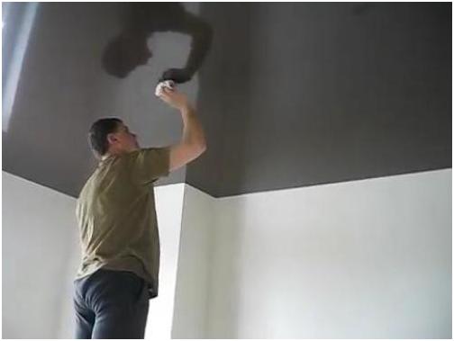 Как мыть и ухаживать за матовым натяжным потолком? (9 фото)