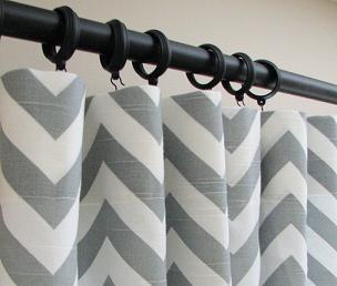 Как снимать шторы с крючками