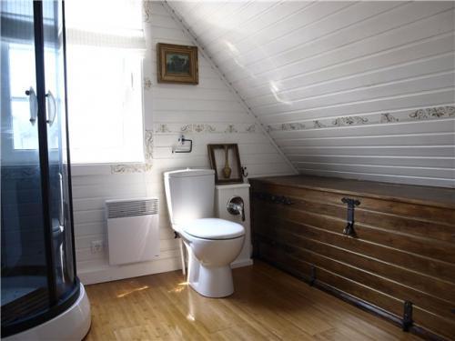 Из чего лучше сделать потолок на мансарде ? (11 фото)