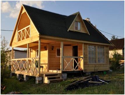 Чем обшить и отделать потолок на даче?