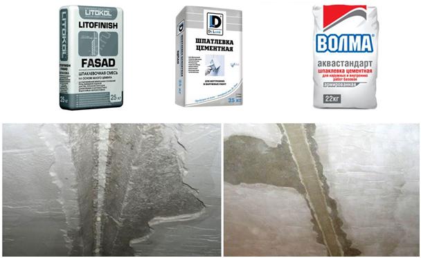Затирка рустов цементным раствором бетон товарный москва цена