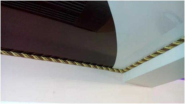Декоративная вставка (заглушка) для натяжных потолков