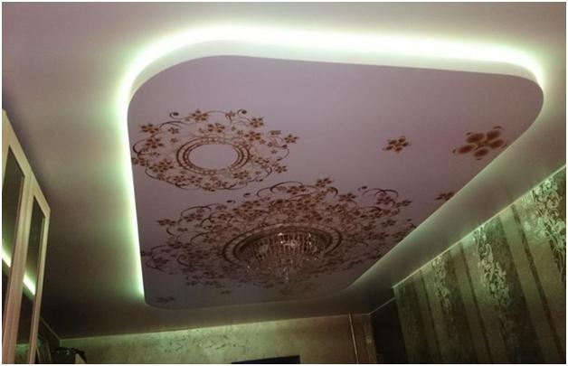 Как сделать парящий натяжной потолок своими руками? (10 фото)
