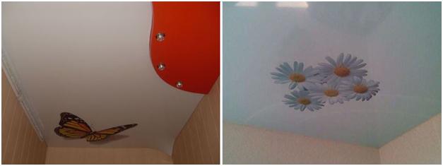 Как заделать дырку в натяжном потолке Чем заклеить отверстие что делать если покрытие продырявили как можно починить своими руками