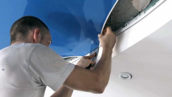 Шпатель для натяжных потолков инструмент для установки тканевых потолочных покрытий своими руками как сделать шпатель для монтажа размеры изделия