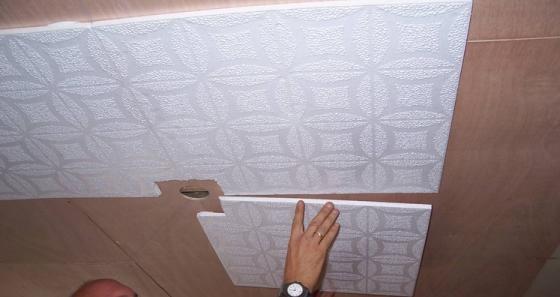 Потолочная плитка и ее виды, критерии выбора
