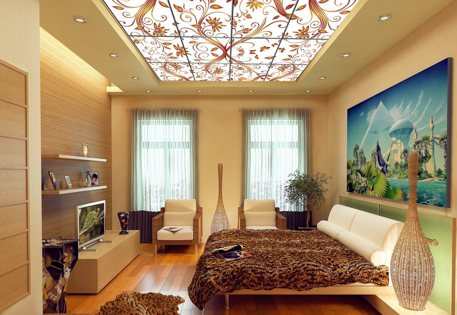 Картинки красивые потолки в квартире