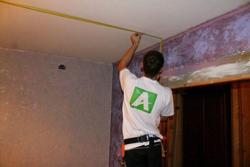 Расчет материалов на потолок